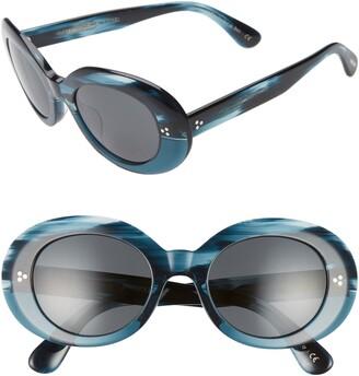 Oliver Peoples Erissa 52mm Round Sunglasses