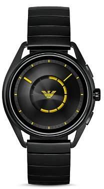 Emporio Armani Tech Black Touchscreen Smartwatch, 43mm