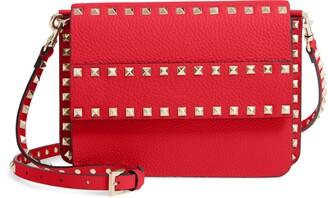 Valentino GARAVANI Small Rockstud Calfskin Leather Shoulder Bag
