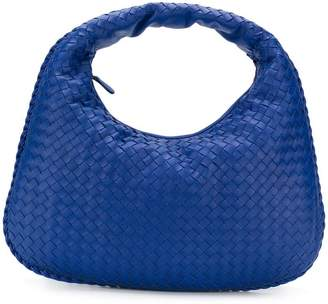 Bottega Veneta cobalt Intrecciato nappa medium veneta bag