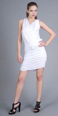 White Goddess Dresses by Lia Kes