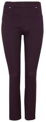 Wallis Purple Side Zip Jegging