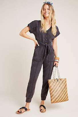 Anthropologie Huxley Utility Jogger Jumpsuit