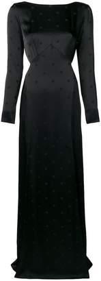 Temperley London Betty slit maxi dress