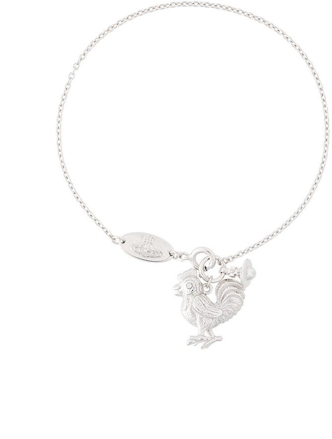 Vivienne WestwoodVivienne Westwood chicken pendant bracelet
