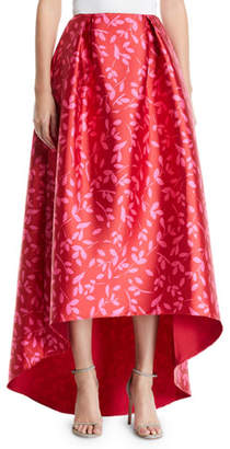 Sachin + Babi Avalon High-Low Printed Maxi Skirt