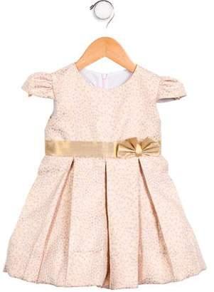 Marco & Lizzy Girls' Polka Dot A- Line Dress w/ Tags