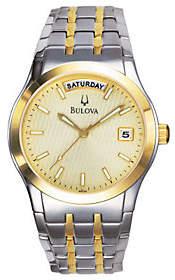 Bulova Men's Two-Tone Bracelet Watch
