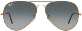 Ray-Ban Men's Aviator Large Metal II Sunglasses
