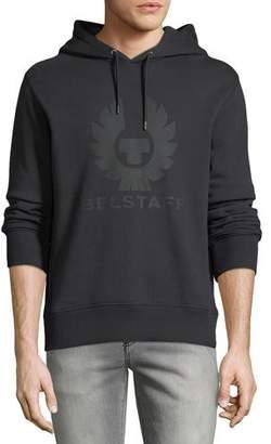 Belstaff Men's Langdon Graphic Modern Fleece Hoodie