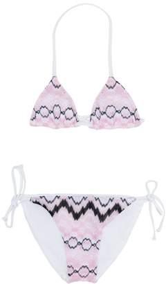 Missoni Kids zigzag bikini