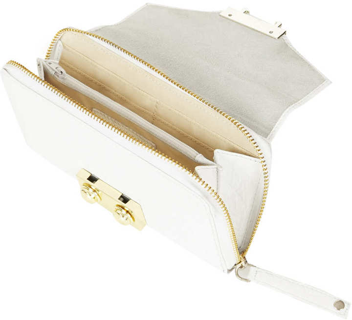 Topshop Boxy Leather Purse