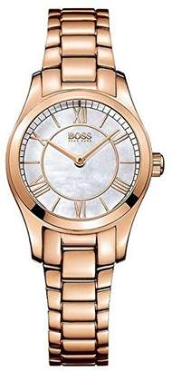 HUGO BOSS Boss Women's Quartz Watch Analogue Display and Stainless Steel Strap 1502378