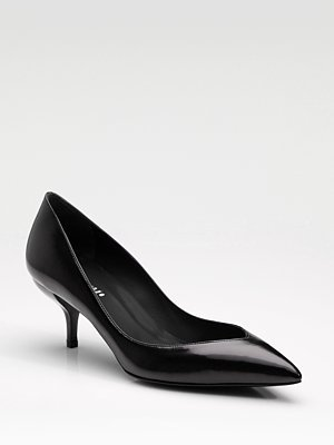 Point-Toe Pumps