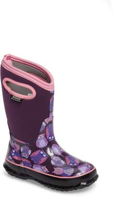 Bogs Classic Insulated Waterproof Owl Boot