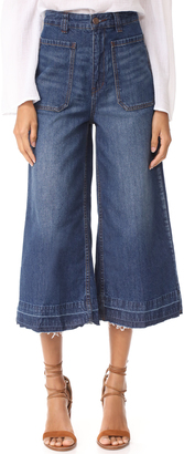 Free People Dawn To Dusk Crop Jeans $78 thestylecure.com