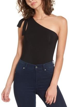 Women's Majorelle Lina One-Shoulder Bodysuit $108 thestylecure.com