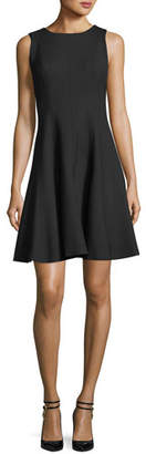 Carolina Herrera Sleeveless Fit & Flare Dress