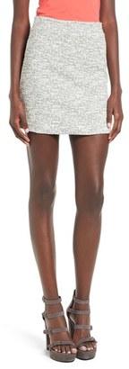 Women's Topshop Scratch Boucle Miniskirt $45 thestylecure.com