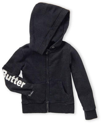 Butter Shoes Girls 4-6x) Patch Long Sleeve Hoodie