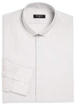 Saks Fifth Avenue MODERN Striped Button-Down Dress Shirt