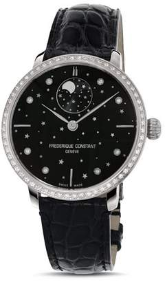 Frederique Constant Slimline Moonphase Stars Watch, 38.8mm
