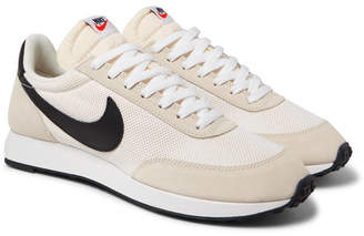 Nike Air Tailwind 79 Mesh, Suede and Leather Sneakers - Men - Neutral