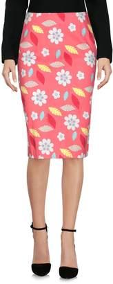 Moschino Knee length skirts - Item 35382384QT
