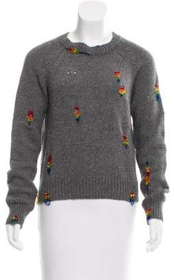 Marc Jacobs Embellished Wool & Cashmere Sweater