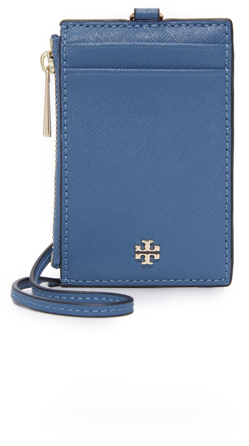 Tory Burch Tory Burch Robinson Lanyard Card Case
