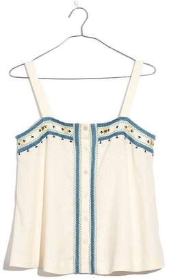Madewell Mirror Embroidered Tank