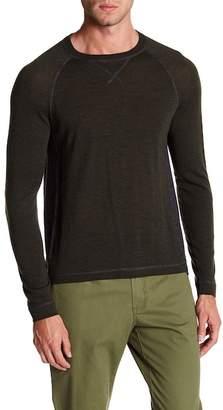 Quinn Colorblock Raglan Wool Sweatshirt