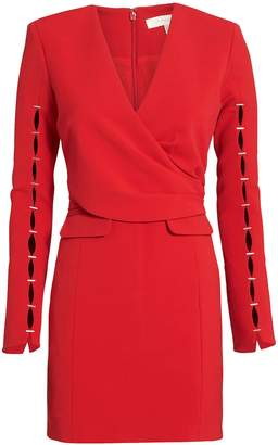 Jonathan Simkhai Staple Sleeve Wrap Dress