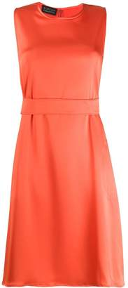Gianluca Capannolo belted midi dress