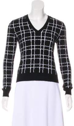 DSQUARED2 Angora Intarsia Sweater