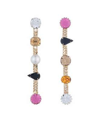 Dannijo Walse Crystal Statement Earrings