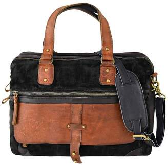 Vintage Addiction Suede Messenger Laptop Bag