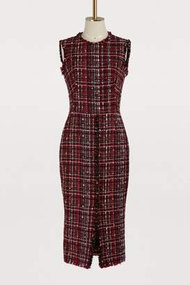 Alexander McQueen Tweed dress