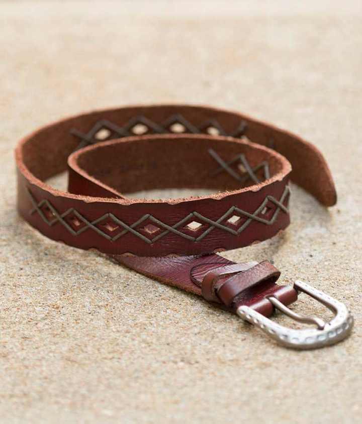 Indie Spirit Embroidered Belt