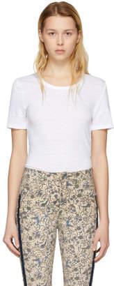 Etoile Isabel Marant White Killian T-Shirt