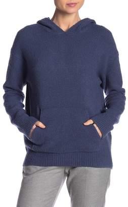 Vince Wool Blend Pullover Hoodie