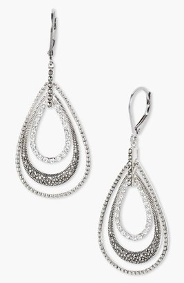 Women's Judith Jack Orbital Triple Teardrop Hoop Earrings $170 thestylecure.com