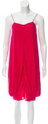 Gary Graham Silk Midi Dress