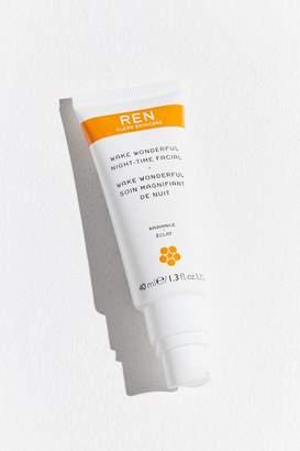 Ren Skincare Wake Wonderful Night-Time Facial