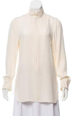 Akris Long Sleeve Silk Tunic