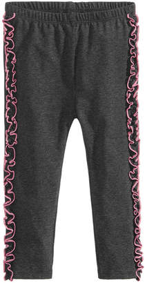 First Impressions Baby Girls Side Ruffle Leggings