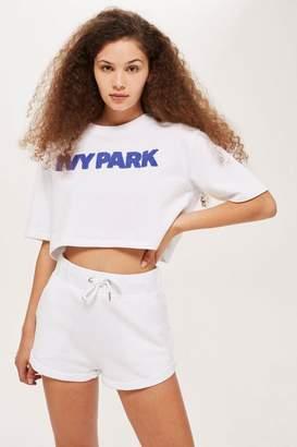 Ivy Park Chenille Logo Crop T-shirt