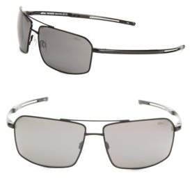 62MM Pilot Sunglasses $199 thestylecure.com
