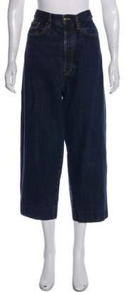 Marni Logo-Embellished High-Rise Jeans