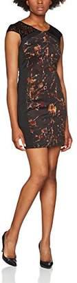 Smash Wear Smash! Women's's Devika Basic Dress, (Brown 42), (Size:Large)